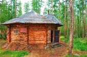 Кордон природного парка `Момский`. Устье р.Эрикит