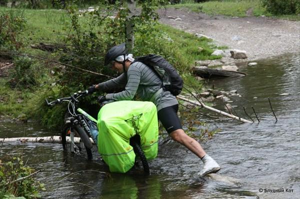 Для чего велосипедисту растяжка =)