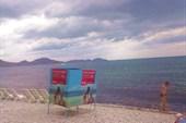 Пляж Коктебеля