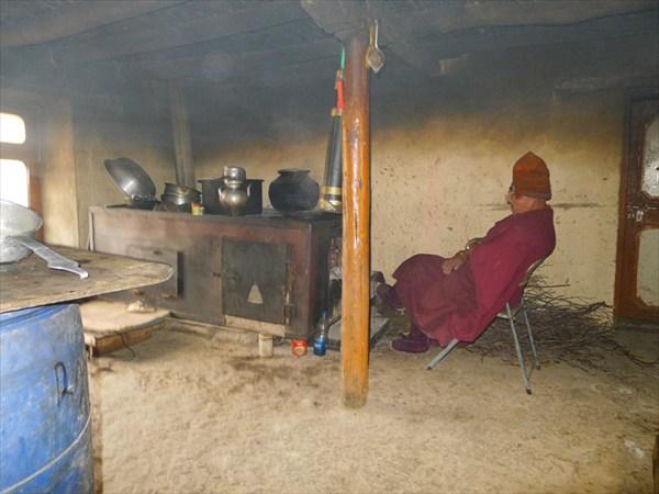 Монастырь Рангдум, кухня