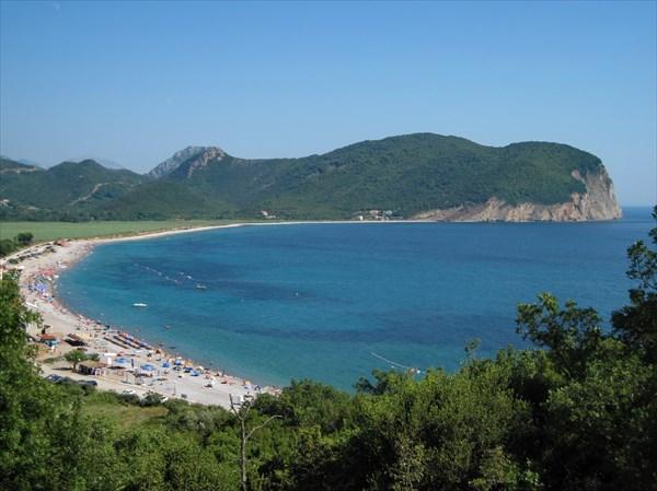 Пляж Buljarica