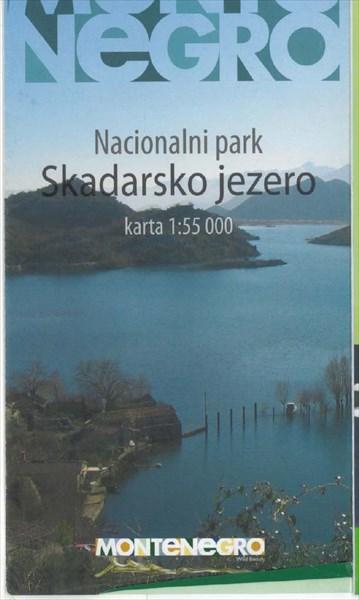 Карта Скадарского озера 1:55000