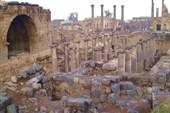 Bosra. Город из черного базальта