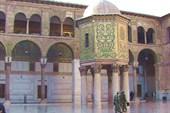 Дамаск. В мечети Омейядов