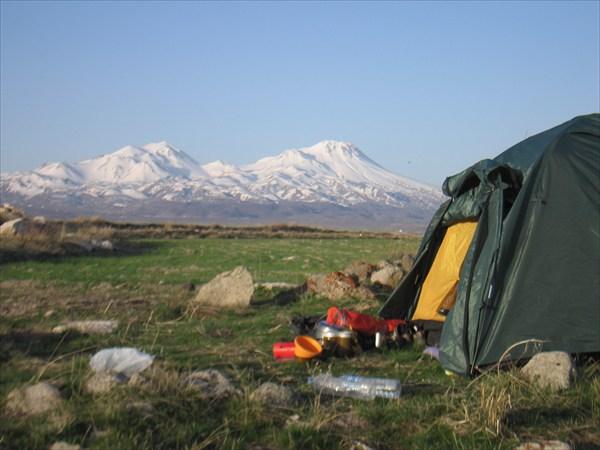 Вид на гору Хосан