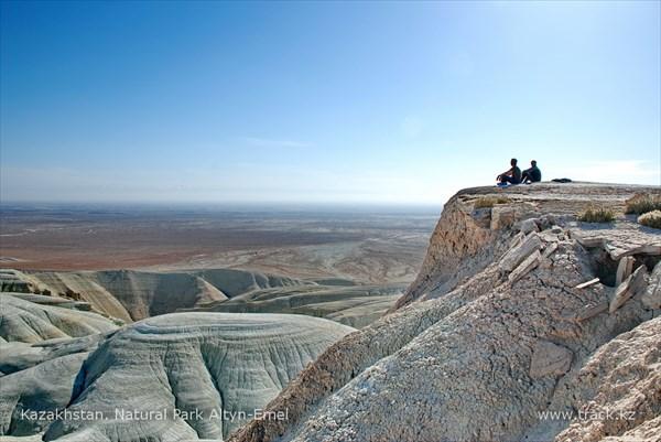Горы Актау, природный парк Алтын-Эмель.