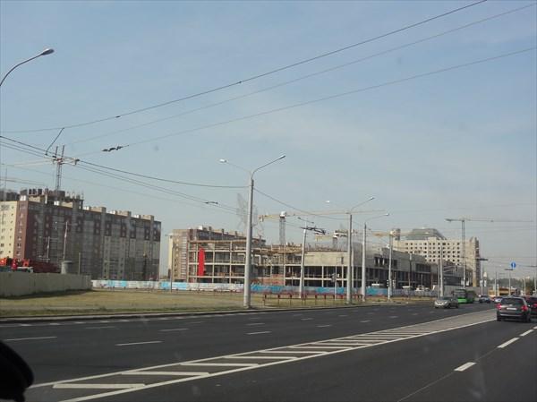 Въезжаем в Минск.