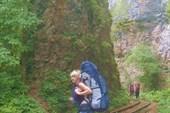 На узкоколейке в Гуамском ущелье