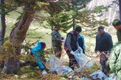 DSC08295 Уборка мусора на озере.