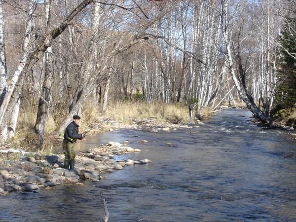 Наши рыбаки знают, где ловить и что ловить, на р. Тулата.