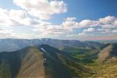 Вид с пика Марченко на гору Куэльпорр