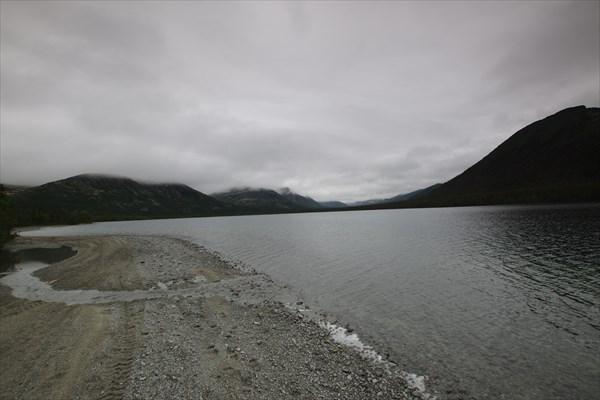 Озеро Гольцовое. Устье р. Лявойок