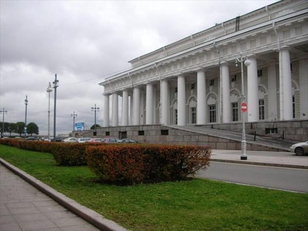 Здание биржи, 1805—1816