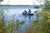 Плавание на резиновой лодке