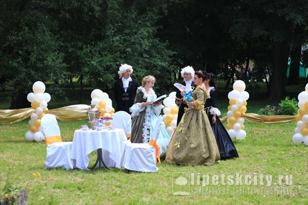 Чаепитие с Екатериной II