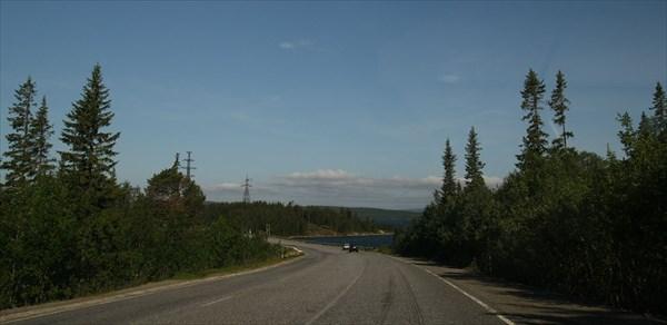 Гдето на шоссе