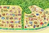 Карта туристического комплекса