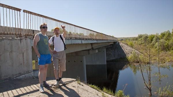Мост через р. Сулица