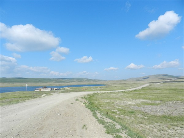 Дорога на плато Укок