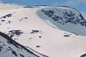Искатанные лыжами склоны