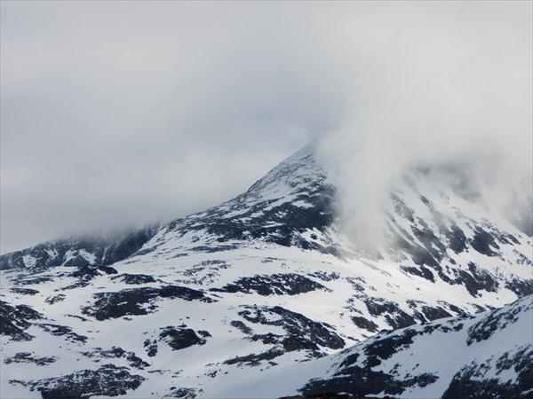 Склоны второй по высоте вершины Норвегии