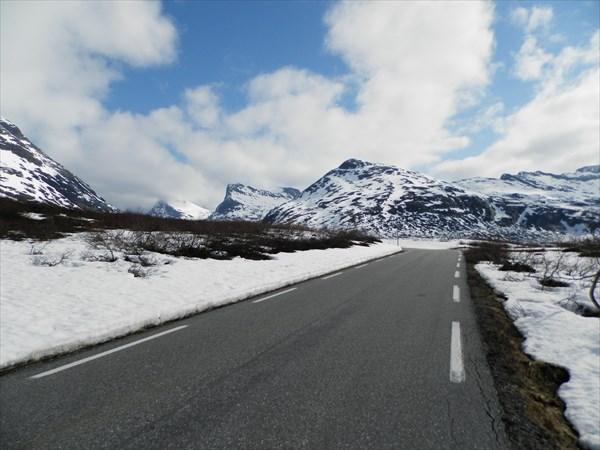 По дороге к Trollstigenn-у