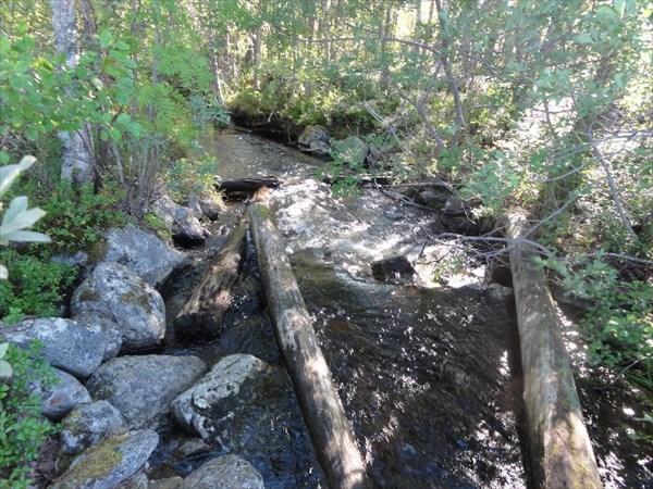 Старая протока на оз.Цеппи