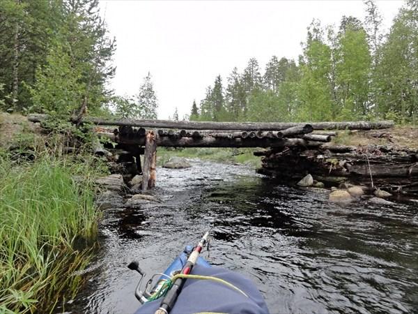 Мост, порог Хямех