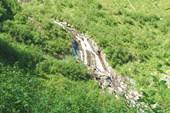 Верхняя часть большого водопада