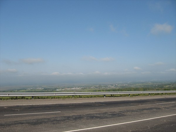 Еще один типичный камчатский пейзаж