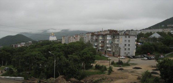 Петропавловск - город контрастов