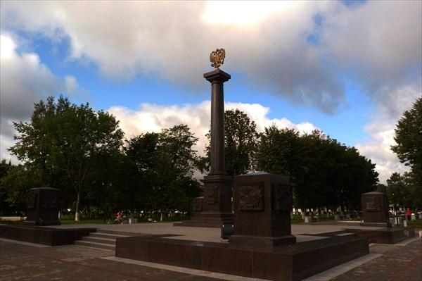 Луга - город воиской славы