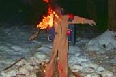 Сжигание комбеза