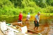 16 июля 2008. Река Сережа. Замучили слепни.