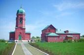 Церковь и в селе Монастырщино в честь победы в Куликовской битве