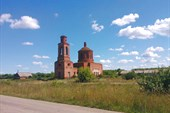Заброшенная церковь д. Суханово