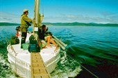 Яхта в пути