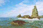 Кекуры на острове Утичьем