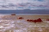 Яхта около острова Утичьего
