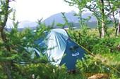 Лагерь в верховье ручья Харута-Шор.