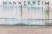 Дождь и памятник Маннергему