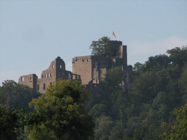 Старый замок в Баден-Бадене
