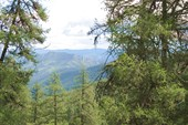 Вид с перевала в сторону Шинка