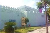 Стена старого города.Кхорат