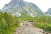 Вид при подъёме на перевал