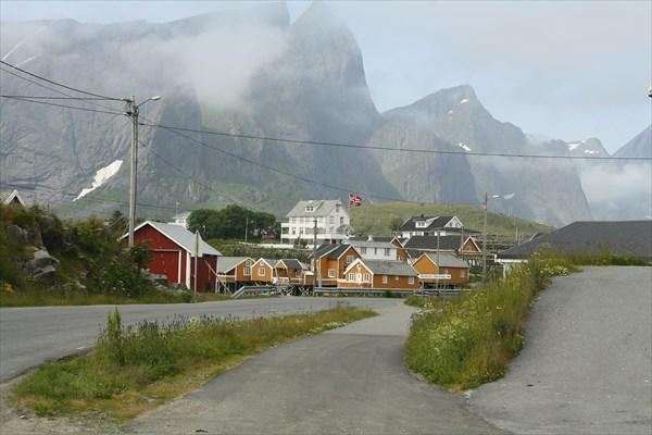 Деревня Hamnoy