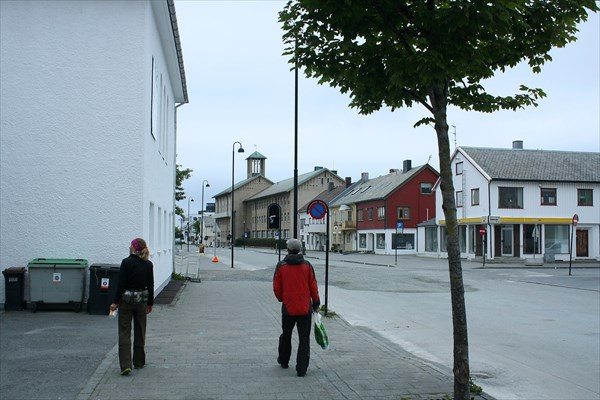 Одна из центральных улиц города
