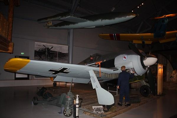 Немецкий Focke-Wulf Fw.190A-4 в Норвежском музее авиации