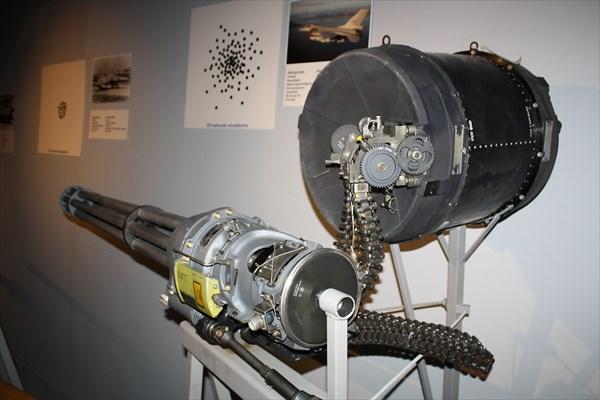 Авиапушка M61 Vulcan, сделания по схеме Гатлинга