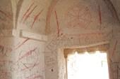 Роспись монастыря времен борьбы с иконописью